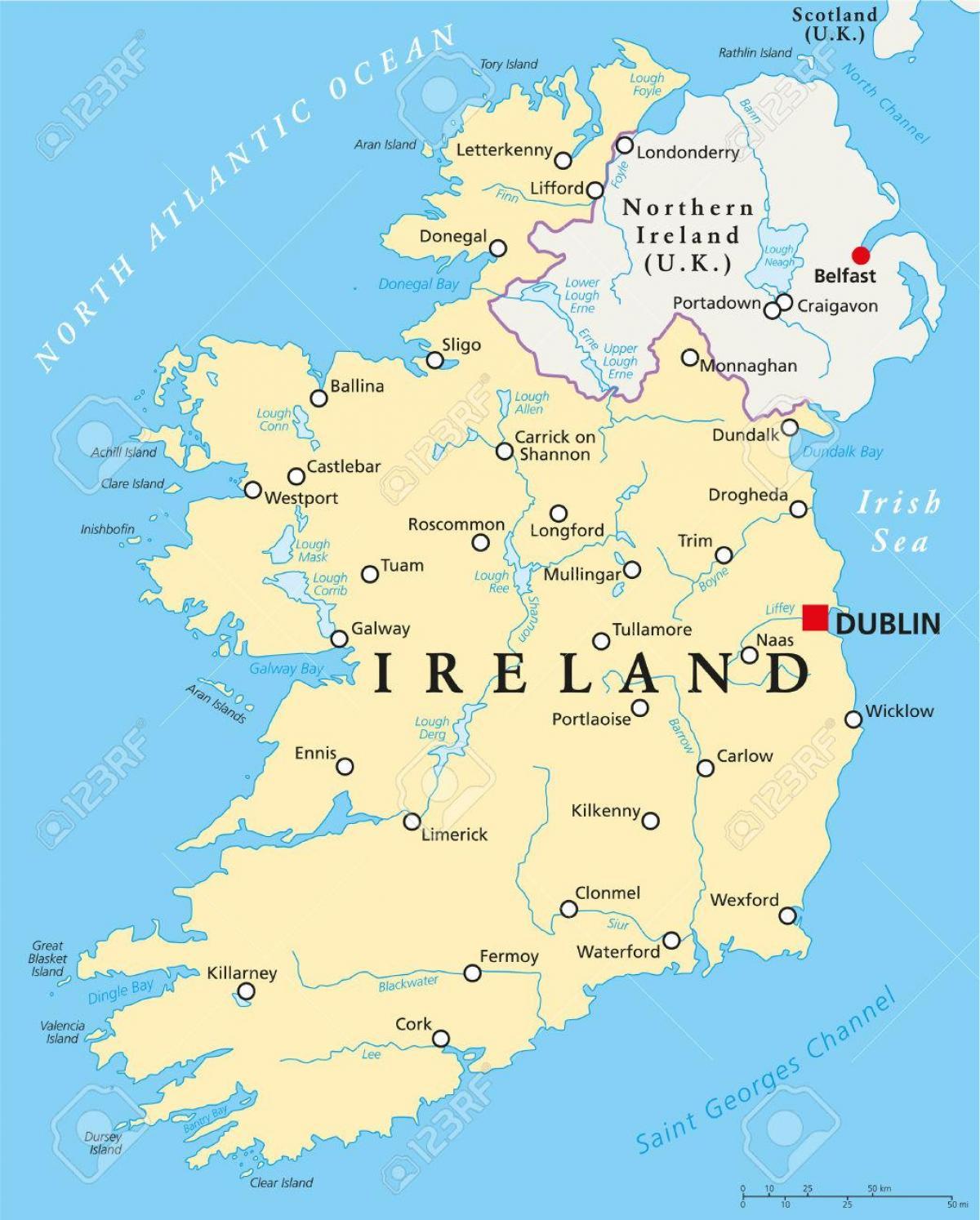 irland karta Dublin irland karta   Dublin karta irland (ireland) irland karta